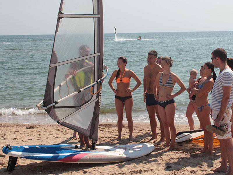 В Затоке множество развлечений на море и на пляже