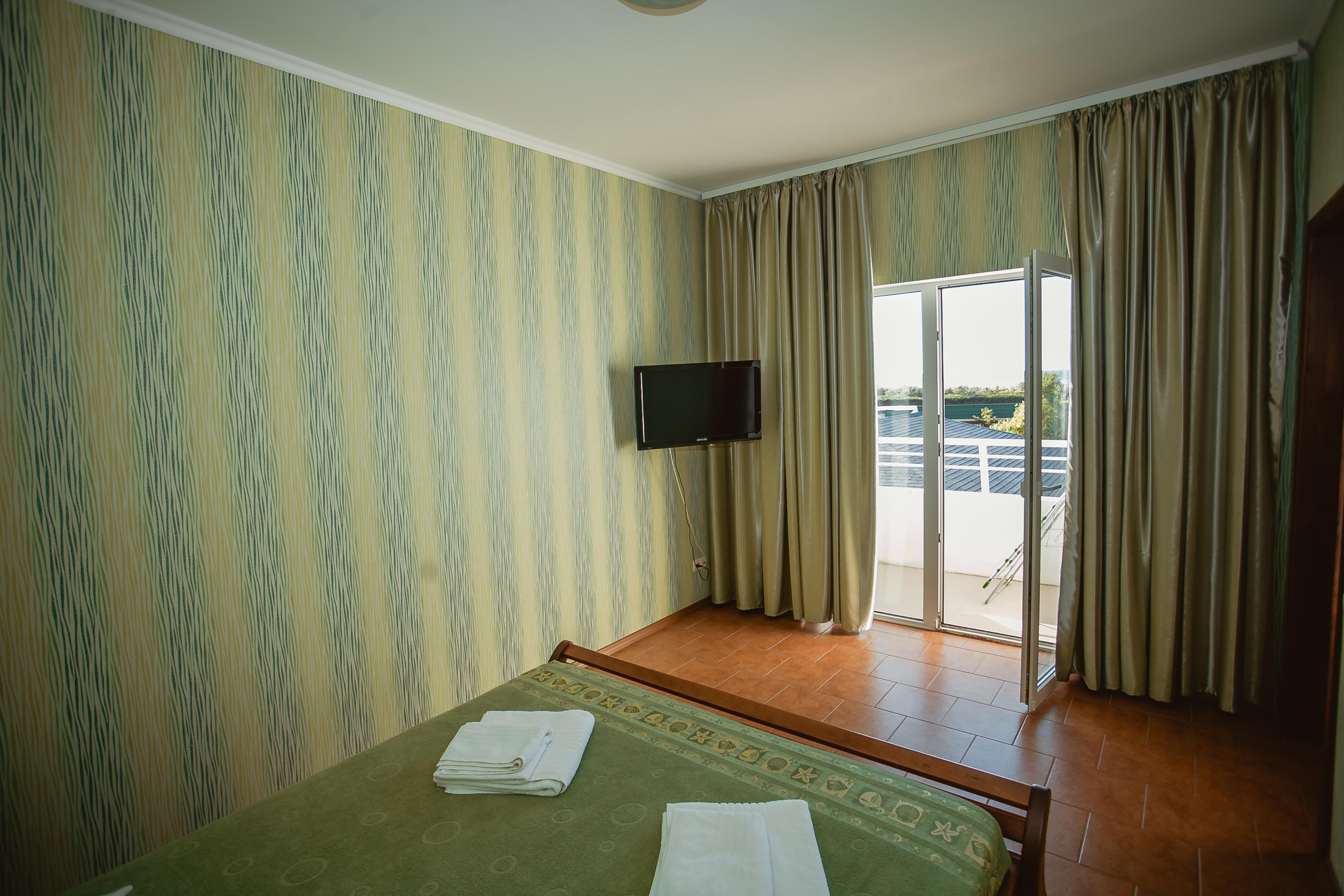 Отдых в Затоке. Отель Вилла Санторини